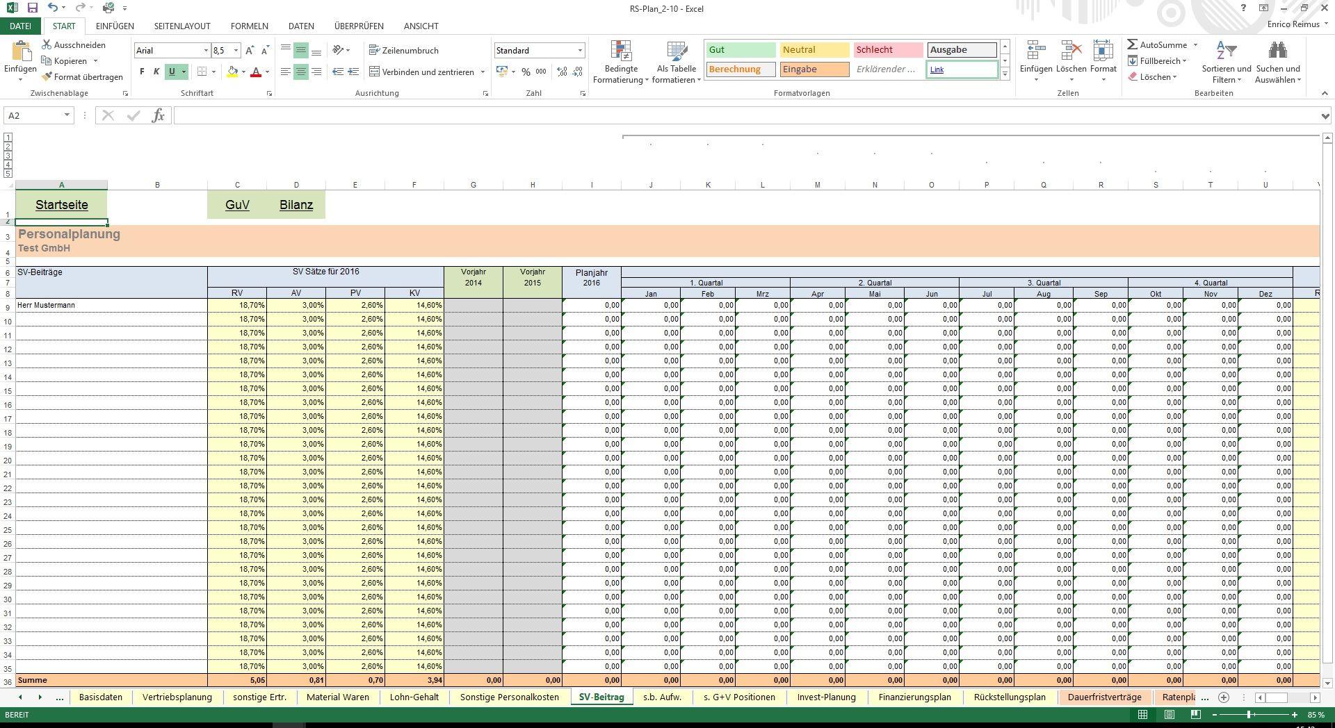 Fantastisch Basic Lohnzettel Vorlage Excel Zeitgenössisch - Entry ...