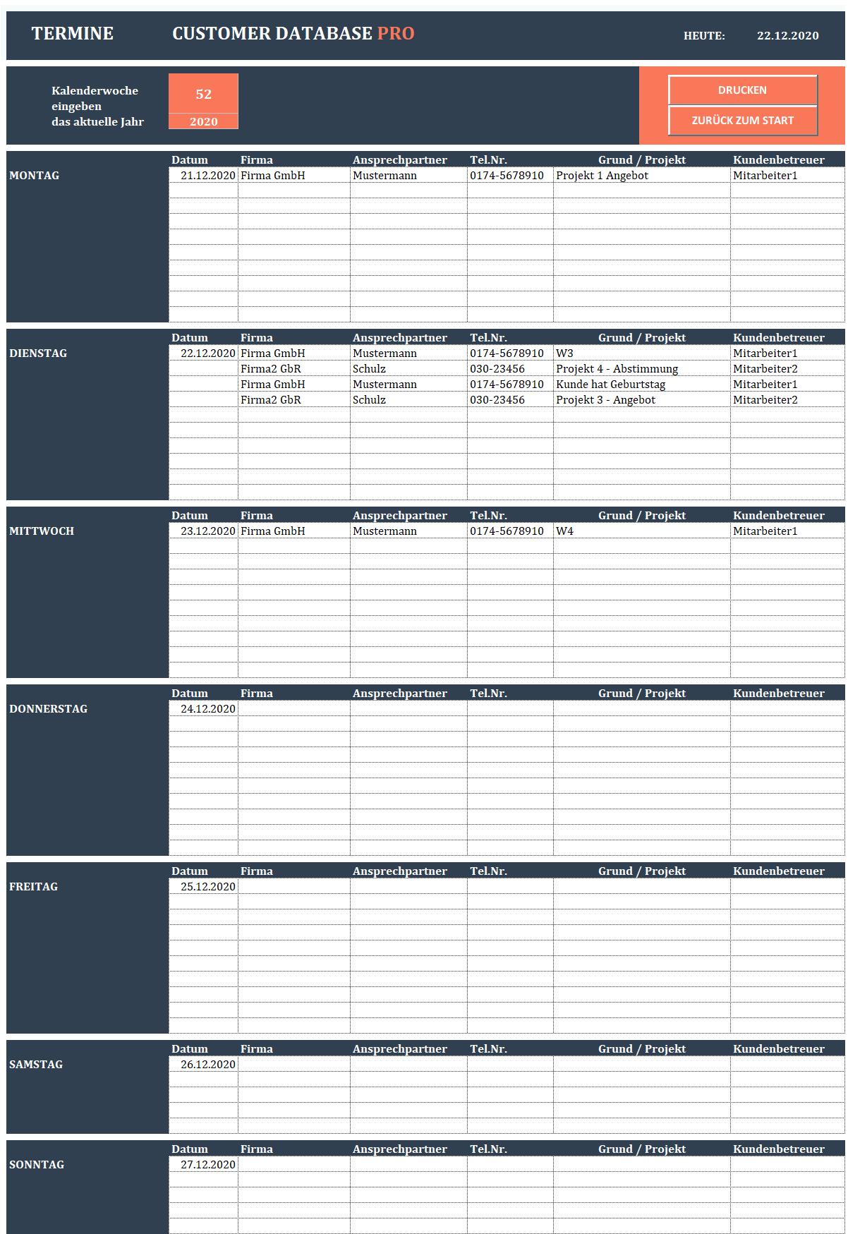 Excel Lieferantenauswahl Angebotsvergleich 15